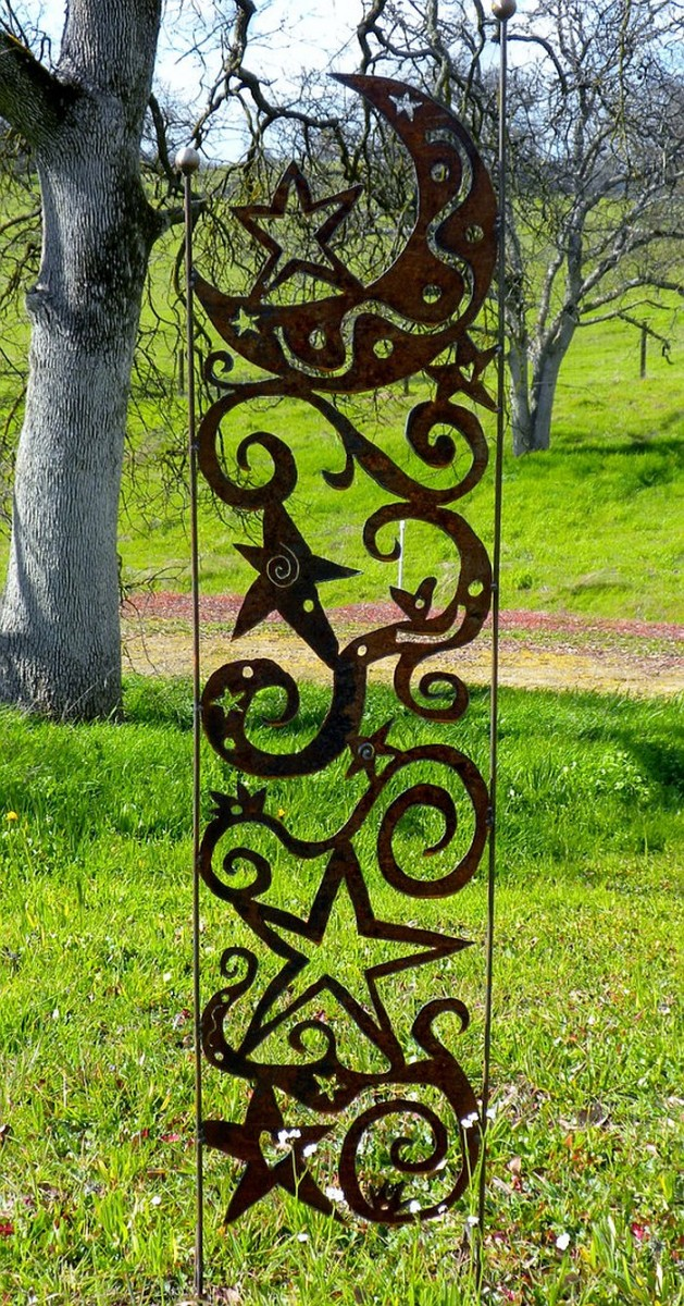 innovative these metal garden trellises are beautiful with or without