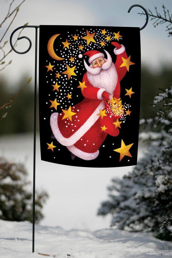 Innovative Toland Home Garden 111234 Celestial Santa 125 X 18 Medium