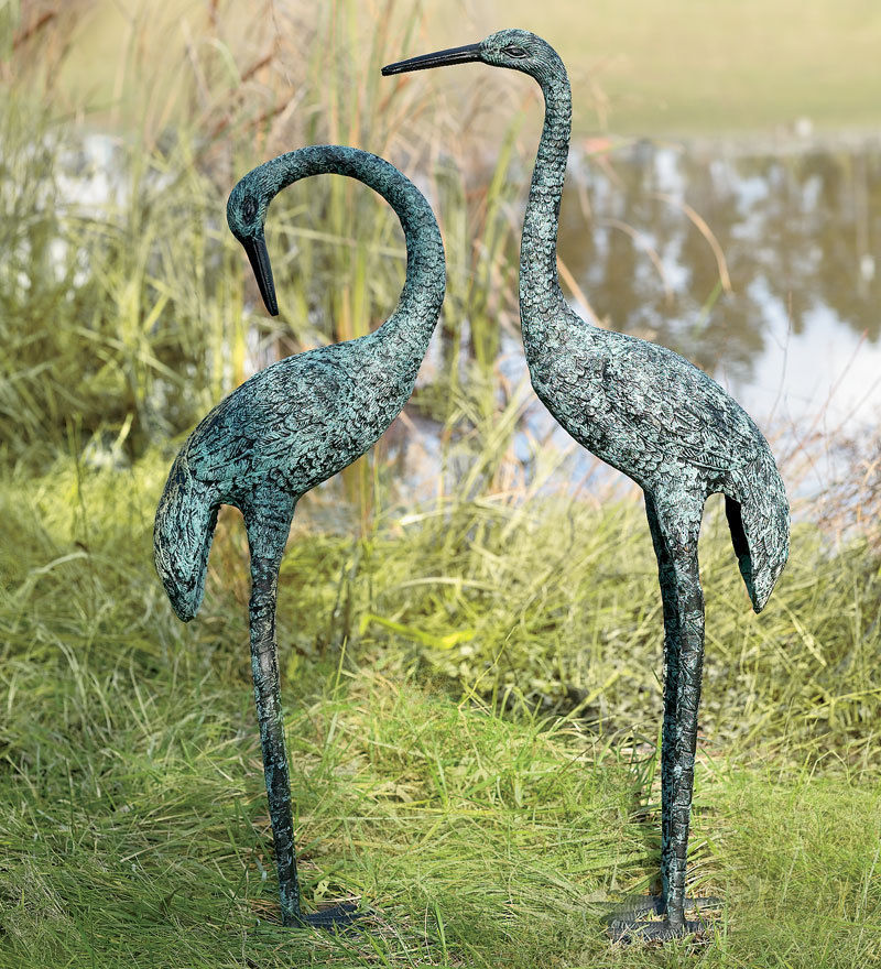 innovative wind   weather garden cranes set of 2ebay