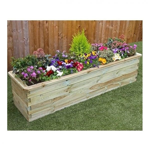 Innovative Zest 4 Leisure Sleeper Rectangle Raised Bed 18m Wide Medium