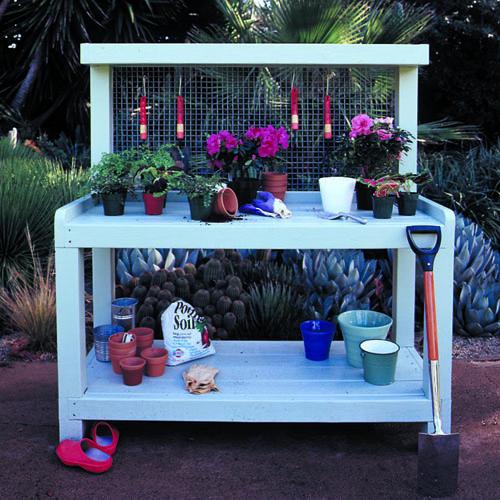 Inspiration 16 Potting Bench Plans To Make Gardening Work Easythe Medium