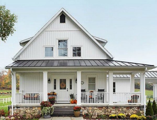 Inspiration Key Characteristics Of Modern Farmhouse Homes Medium