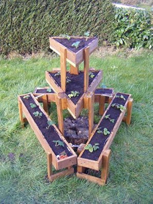 Inspiration Upcycled Pallet Planter Ideas  Wood Pallet Ideas Medium