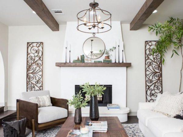 Inspirational Best 25  Stucco Fireplace Ideas On Simple Medium