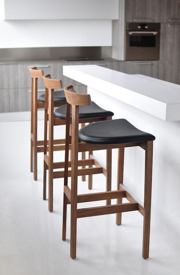 Inspirational Interior Design The Best Retro Bar Chairs  Inspirations Medium