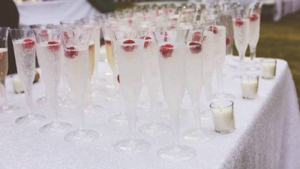 Inspirational Karas Party Ideas Champagne Glasses From An Elegant Medium