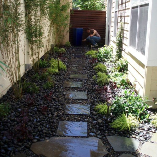 Inspirational Landscaping Ideas For Long Narrow Backyardsgarden Ideas Medium