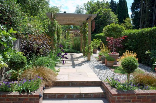 Inspirational Long Thin Garden Designs Long Thin Garden Designs Design Medium