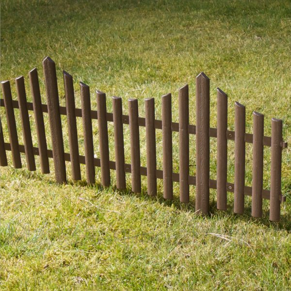 Inspirational Plastic Fencing Lawn Grass Border Path Edging Fancy Small Medium