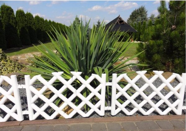 Inspirational Plastic Garden Fence Panels Boarder Lawn Palisade Edge Medium