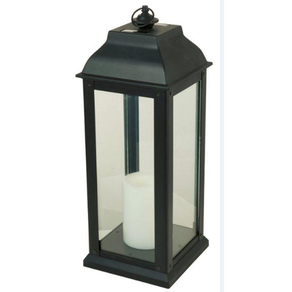 Inspirational Shop 594in X 16in Black Glass Solar Outdoor Decorative Medium