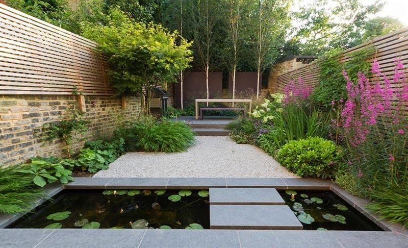 Inspirational Sloping Garden Design Ideas Quiet Corner 43