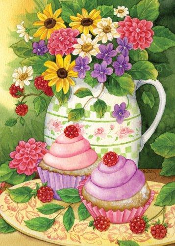 Inspirational Toland Home Garden Garden Cupcakes 28 X 40inch Decorative Medium