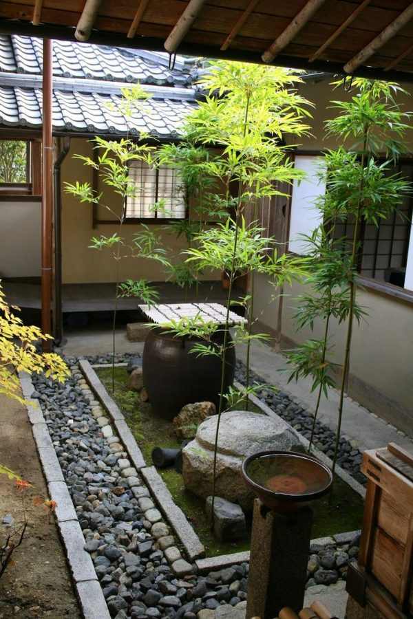 Looking 27 Calm Japaneseinspired Courtyard Ideasdigsdigs Medium