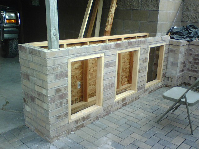 looking a patio bar project
