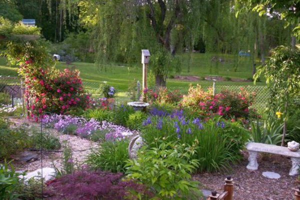 Looking Creating A Memorial Garden To Honor   Remember Loved Ones Medium