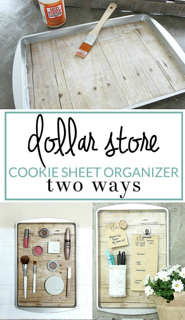 Looking How To Diy A Magnetic Organizer From A Dollar Store Cookie Medium