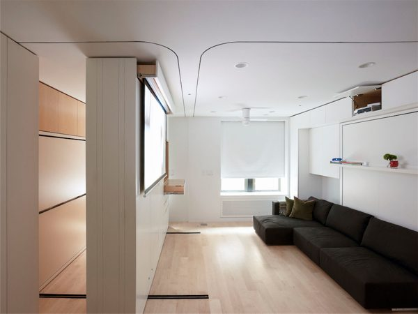 Looking Huge Multifunctional Living Potential In A Tiny 420sqft Medium