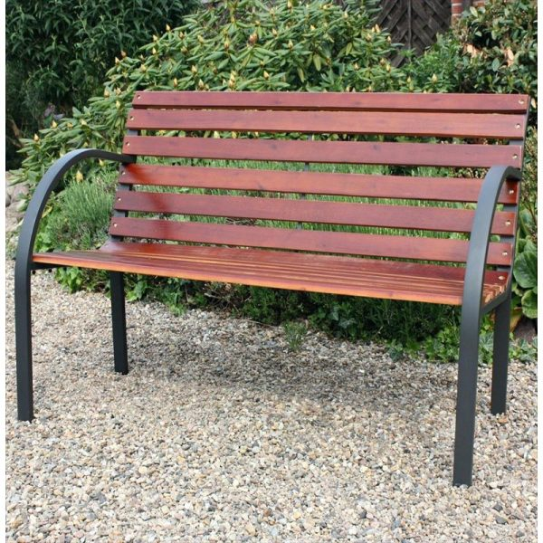 Looking Resin Garden Bench White Patio Medium Size Of Backless Medium