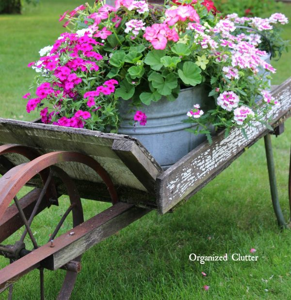 Looking Rustic Garden Wheelbarrow 2015organized Clutter Medium