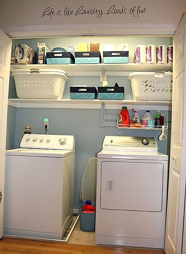 looking tiny laundry room ideas space saving diy creative ideas