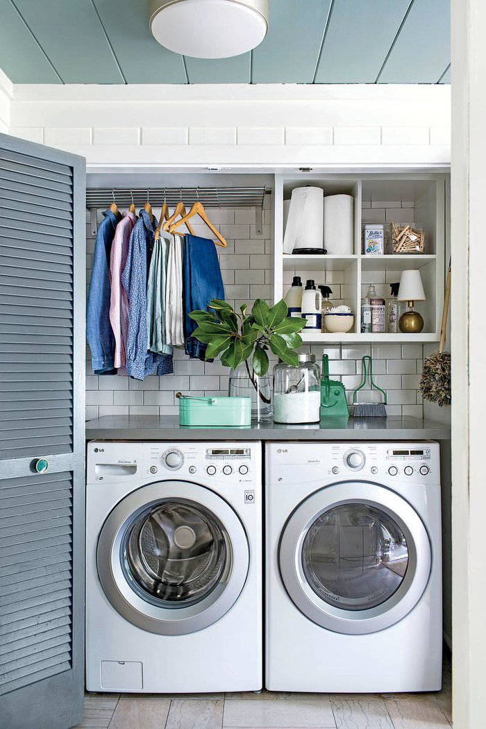 our favorite 10 awesome ideas for tiny laundry spacesdecorating your