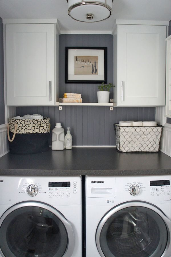 Our Favorite 10 Awesome Ideas For Tiny Laundry Spaceslaundry Room Medium