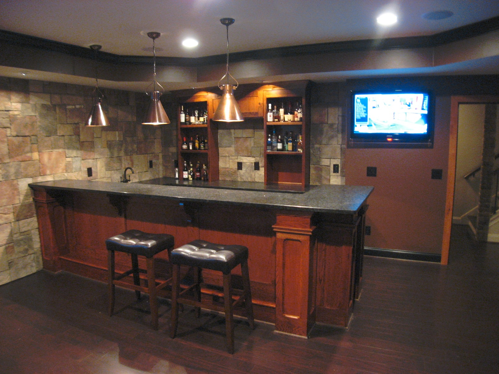 our favorite awesome affordable bars for basements  34084