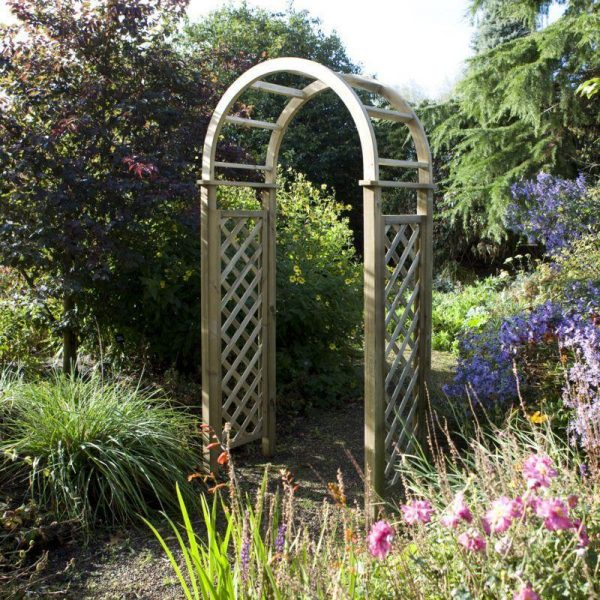 Our Favorite Blooma Chiltern Wooden Garden Arch What Shed Medium