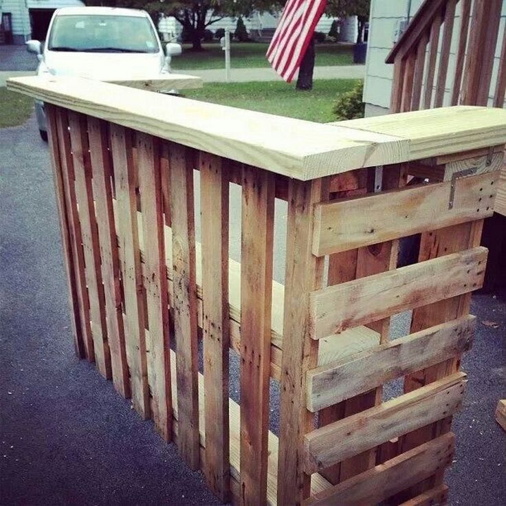 our favorite diy pallet outdoor bar and stoolsthe ownerbuilder