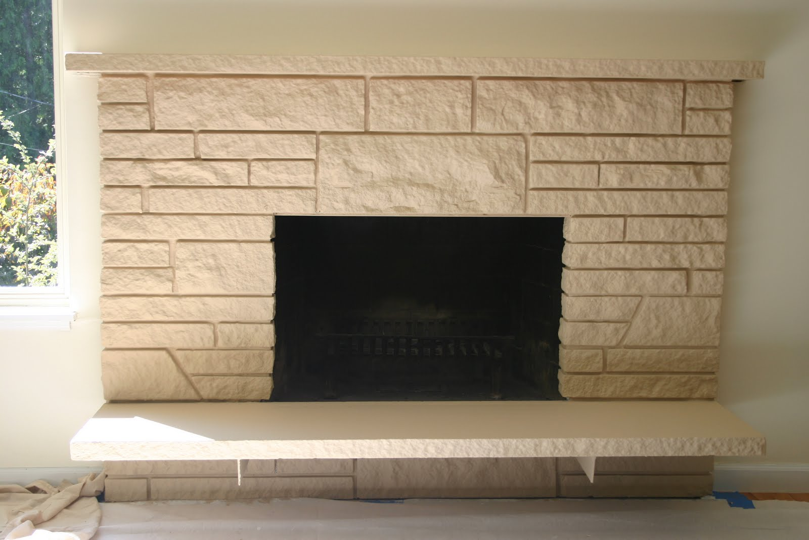 our favorite food wine and home how to update an ugly fireplace on a
