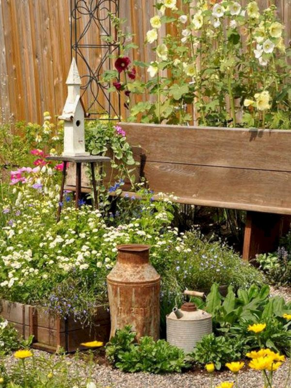Our Favorite Rustic Garden Ideas 5  24 Spaces Medium