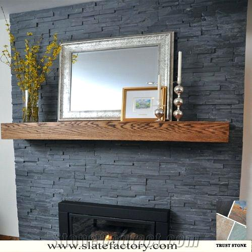 our favorite stacked travertine fireplace  forforainfo