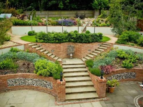 Our Favorite Steeply Sloping Garden Designthe Interior Design Medium