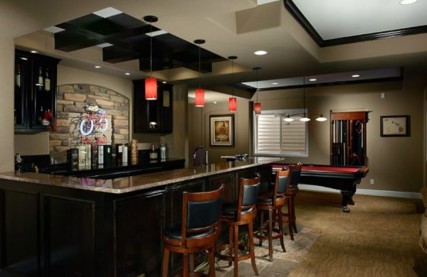 Our Favorite These 15 Basement Bar Ideas Are Perfect For The Man Cave Medium