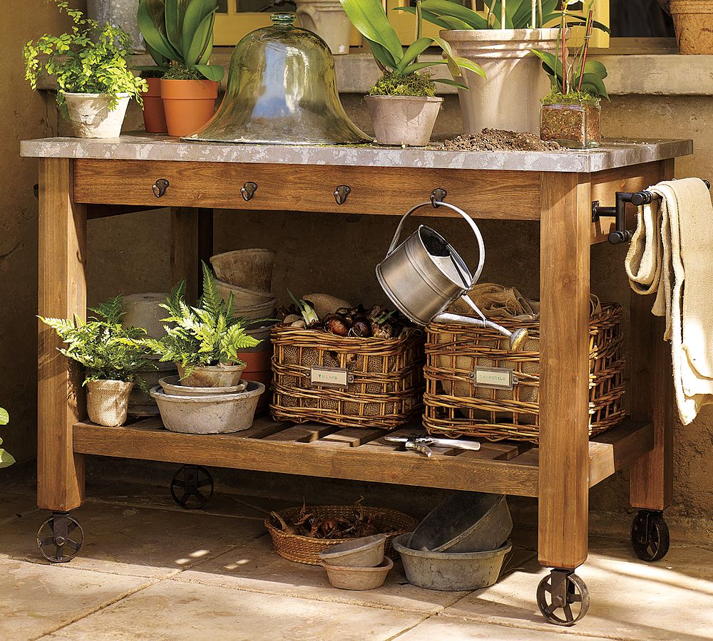 our favorite upcycled garden wares for the potting benchgarden variety