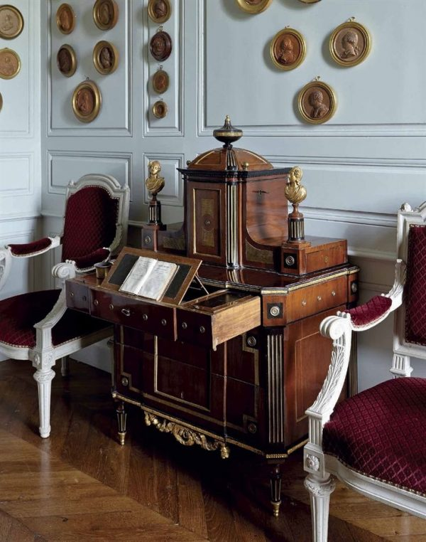 Perfect A Neoclassical Secretaire Russian Early 19th Century Medium