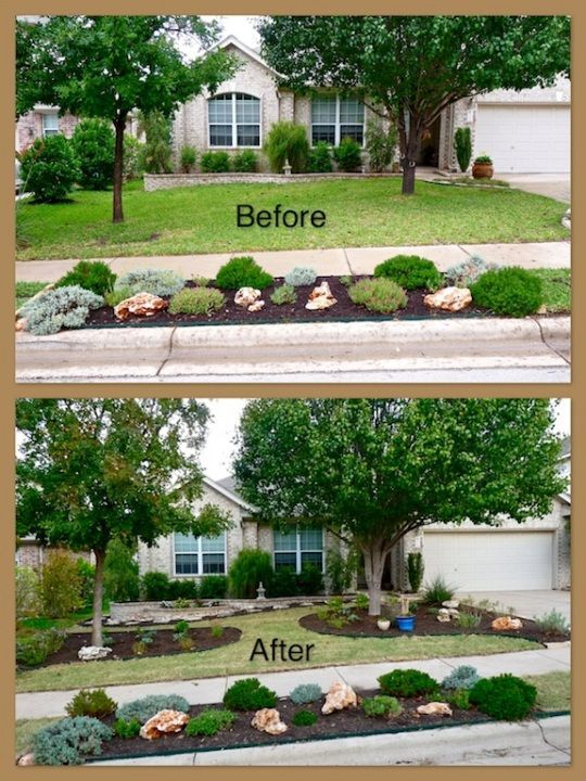 Perfect A New Xeriscaped Front Yarddrought Tolerant Texas And Medium