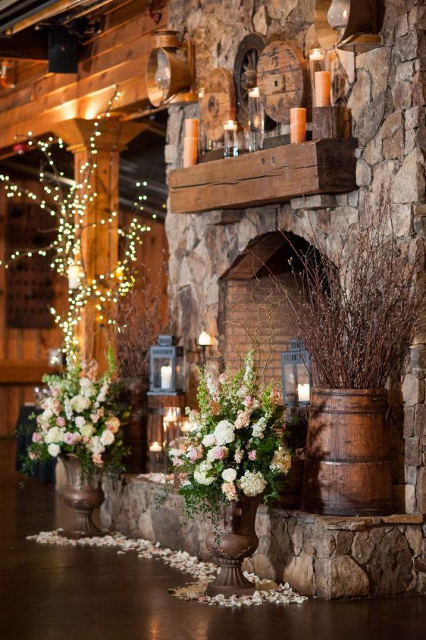 Perfect Best 25  Rustic Fireplaces Ideas On Rustic Medium