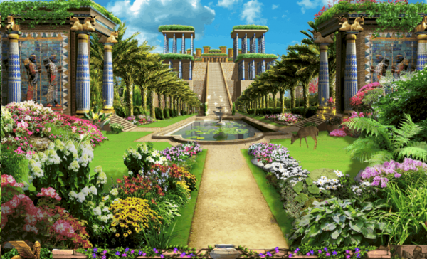 Perfect Hanging Gardens Of Babylon Did This Ancient Wonder Of The Medium