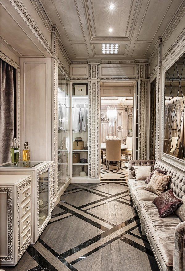 Perfect Neoclassical And Art Deco Features In Two Luxurious Interiors Medium