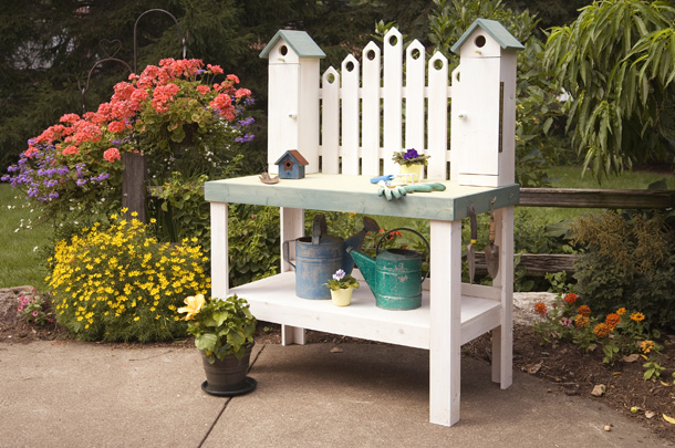 perfect outdoor garden work benches innovation pixelmaricom