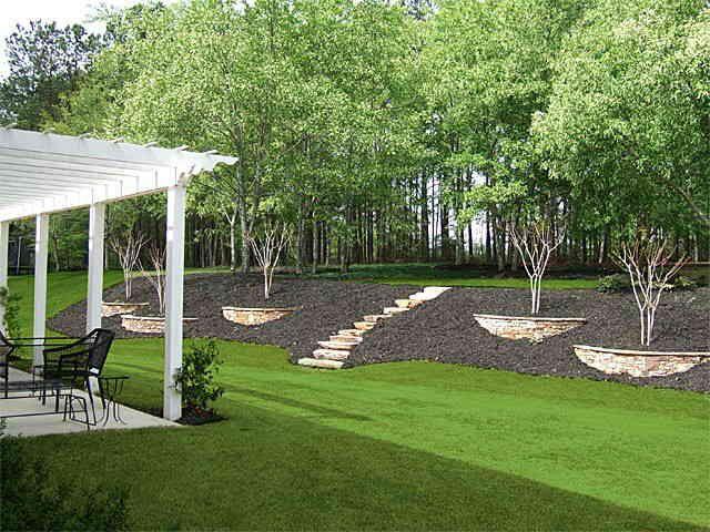 Popular 25 Best Ideas About Backyard Hill Landscaping On ...