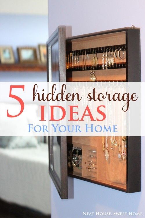 Popular 5 Hidden Storage Ideas For Your Homehome Storage Ideas Medium