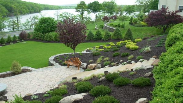 Popular Amazing Designing Gardens On Slopesslope Landscaping Medium