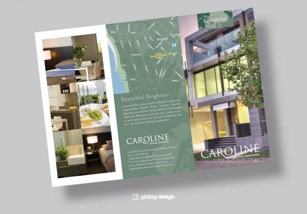 Popular Dl Brochure Design Serviced Apartment Girling Design Studios Medium