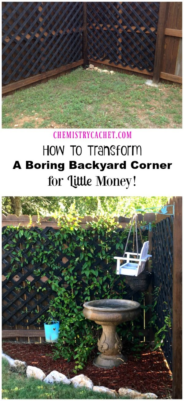 Popular How To Transform A Boring Backyard Corner For Little Money Medium