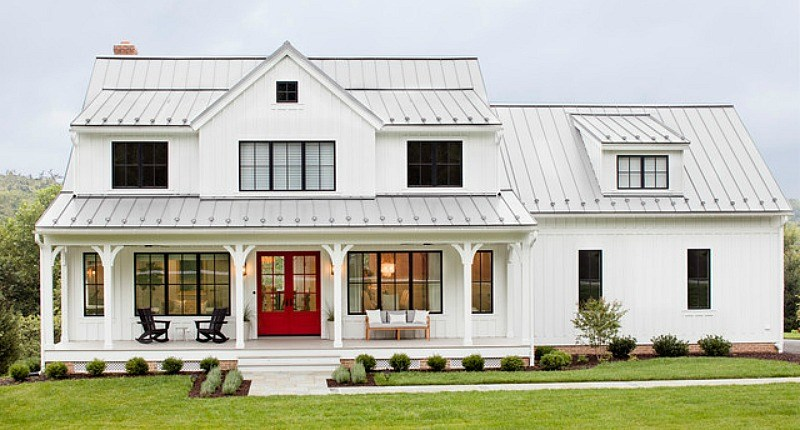 popular key characteristics of modern farmhouse homes