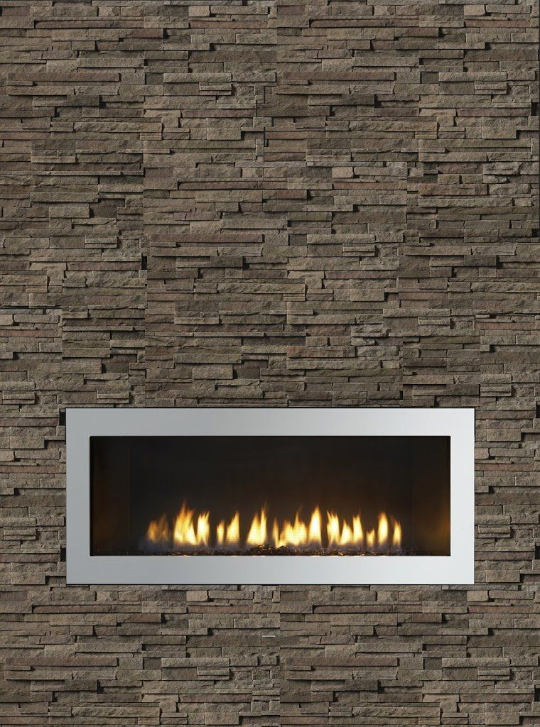 popular our fireplace with stack stone idea but in travertine and