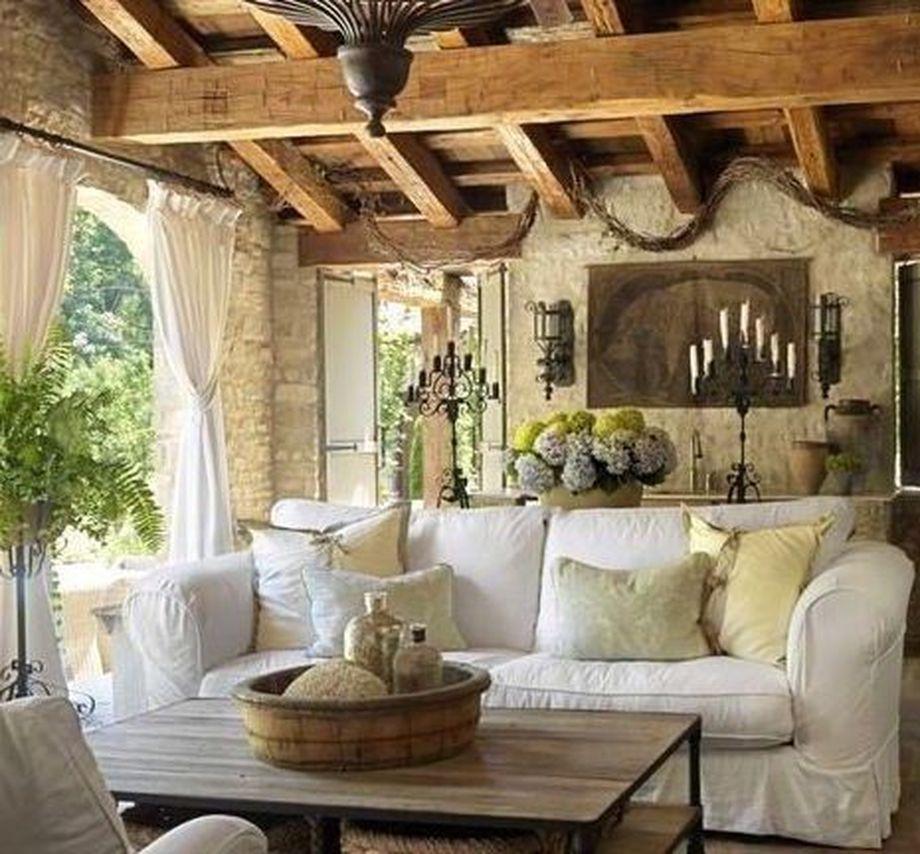 popular rustic italian tuscan style for interior decorations 46